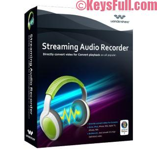 Wondershare Streaming Audio Recorder 2.3.7 Full Crack