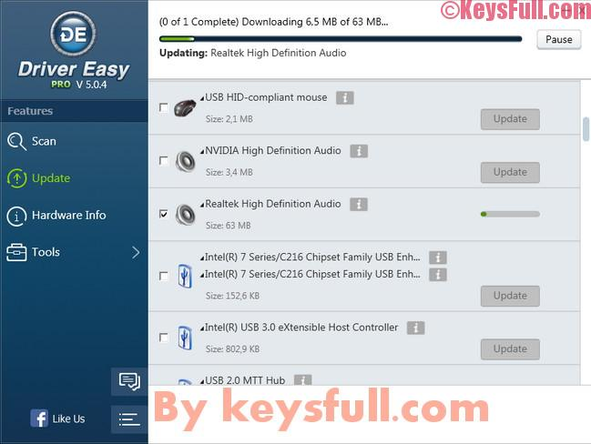Driver Easy Pro 5.6.2 Crack Full Activation Key