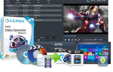 Acrok Video Converter Ultimate 6.1.100 Full Crack