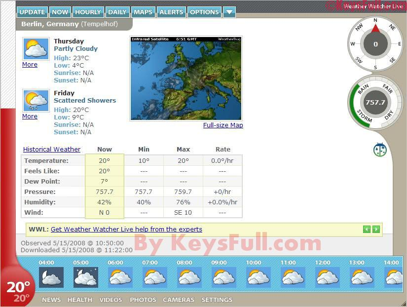 Weather Watcher Live 7.2 Crack + License Key