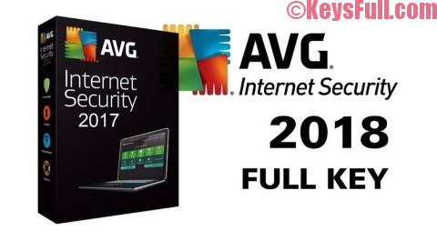 AVG Internet Security 18.5 License Key