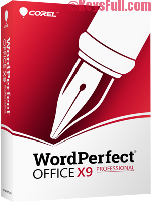Corel WordPerfect Office X9 Professional 19.0 Full Crack