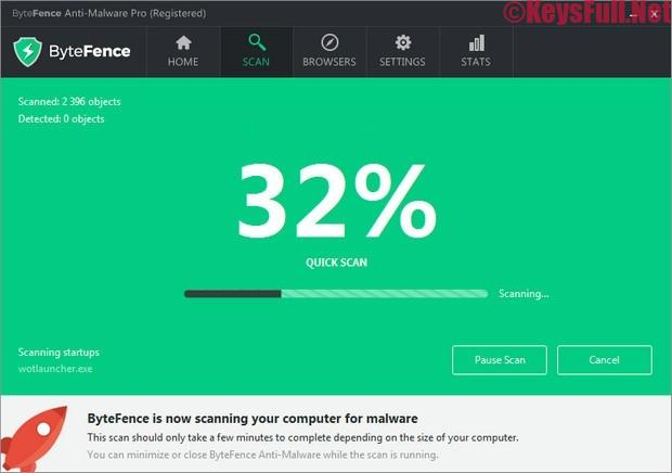 ByteFence Anti-Malware Pro 5.3 Serial Key 2019