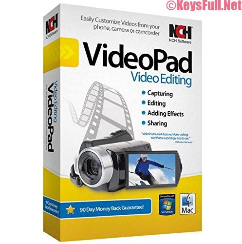NCH VideoPad Video Editor Pro 7.03 With Crack