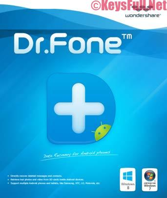 Wondershare Dr.Fone for Android v9.9.5 Full Crack