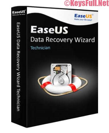 EaseUS Data Recovery Wizard Technician 12.9 Crack