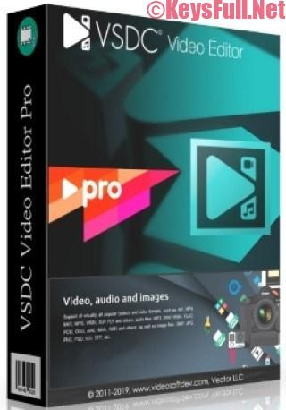 VSDC Video Editor Pro 6.3.3.963 Crack + Key