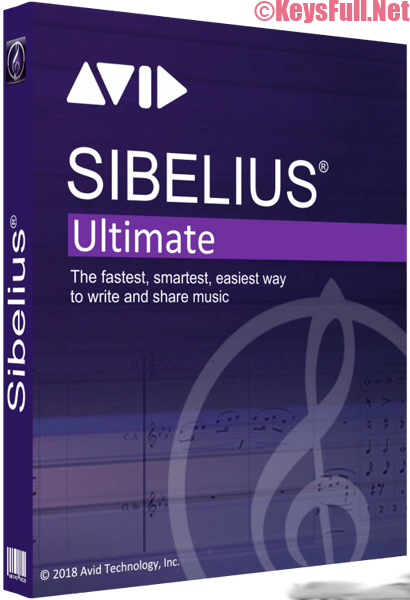 Avid Sibelius Ultimate 2019.4.1 Full Crack