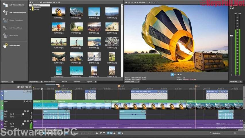 MAGIX VEGAS Movie Studio Platinum 16.0 Crack