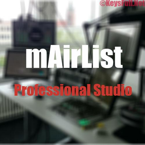 mAirList Professional Studio Plus 6.2.2 Crack