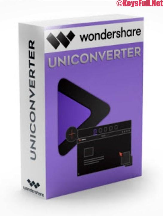 Wondershare UniConverter v12.0 Crack + Serial + Keygen