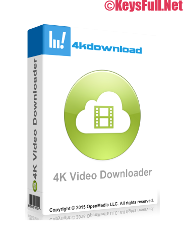 4K Video Downloader 4.11 Full Crack