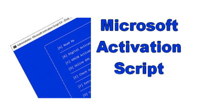 Microsoft Activation Script 1.2 Full Crack