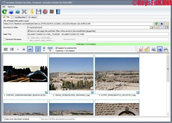 Bulk Image Downloader 5.61 Full Crack