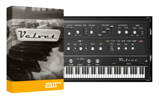 AIR Music Technology Velvet 2.0.7 Full Crack